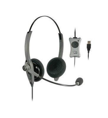 VXI 203012 TalkPro UC2 Binaural USB Headset