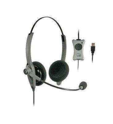 VXI 203012 TalkPro UC2 Binaural USB Headset