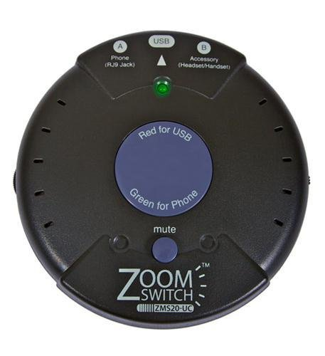 ZOOM ZMS20-UC Zoomswitch headset with MUTE