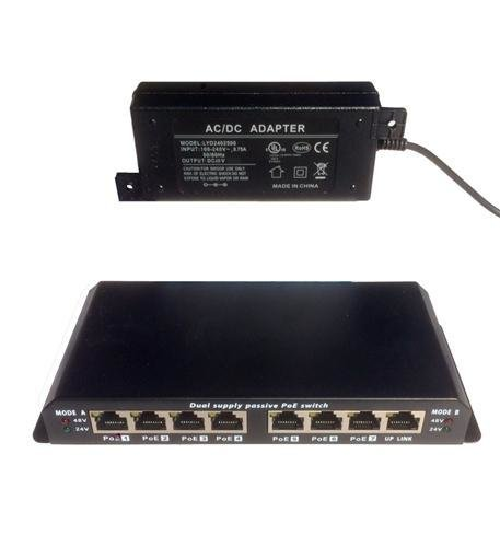 Premier SWITCH-8PORTGIGPOE 8 Port Gigabit PoE Switch
