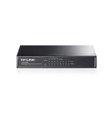 TP Link SG1008P 8-port Gigabit Desktop Switch with 4-POE