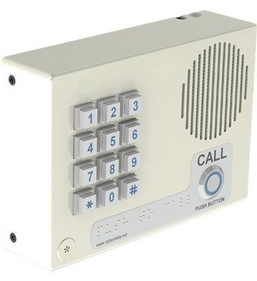 CyberData 011113 VoIP Intercom w/Keypad - Wall Mount