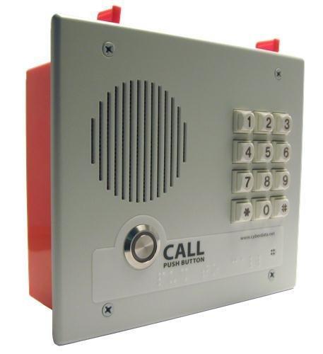 CyberData  011123 VoIP Intercom w/Keypad - Flush Mount