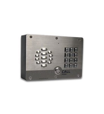 CyberData  011214 VoIP Outdoor Intercom w/ Keypad