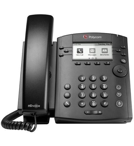 Polycom, Inc. 2200-46135-001 VVX 300 IP BUSINESS PHONE WITH AC POWER