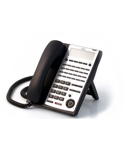 NEC SL1100 1100161 BE110278 24 Button Full-Duplex IP Tel BK