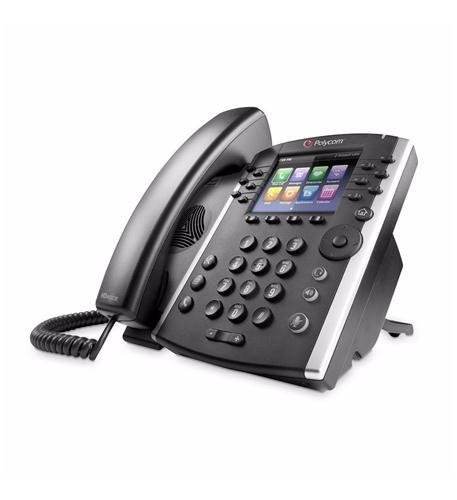 Polycom, Inc. VVX 411 12-Line IP Phone Gigabit PoE