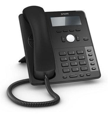 Snom D710 4 Line 4 Function Key SIP Phone 4235