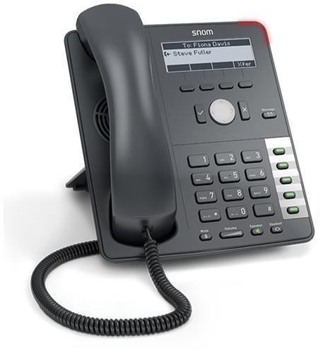 Snom D712 SIP Phone 4 SIP Accounts