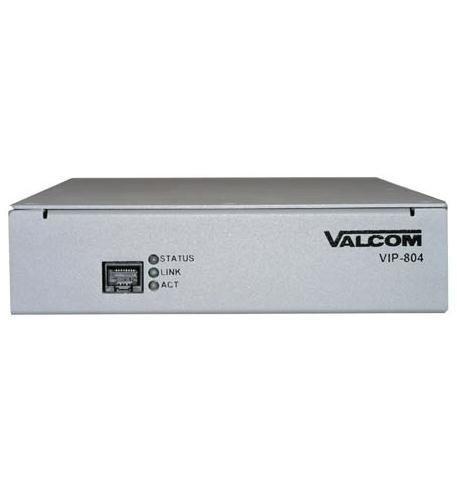 Valcom VIP-804A Enhanced Network Audio Port
