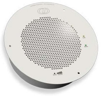Cyberdata Ceiling Drop-In Auxiliary Speaker - Gray White (011201)