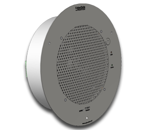 Cyberdata VoIP Talk-Back Speaker - Gray White (011397)