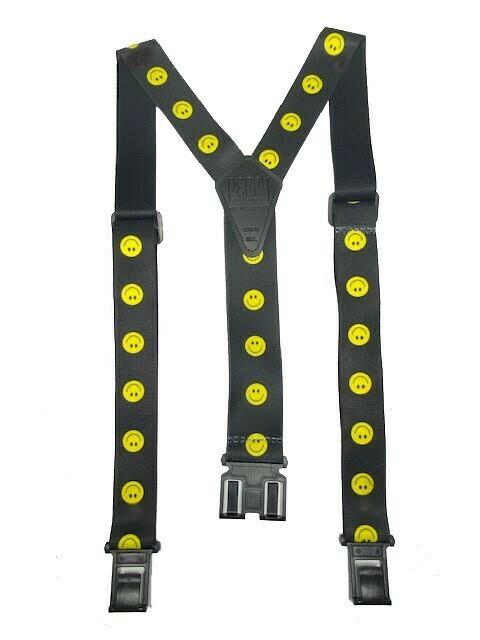 Smiley Face Suspenders