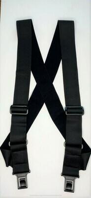 uBEE Perry Suspenders - Undergarment - Black