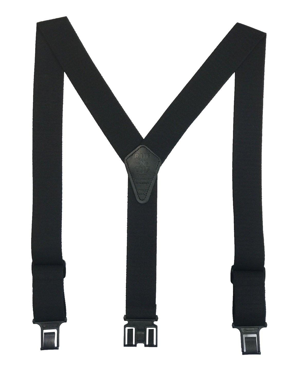 Ruf-N-Tuf Perry Suspenders - Black