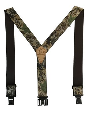Camouflage Perry Suspenders - Advantage Timber