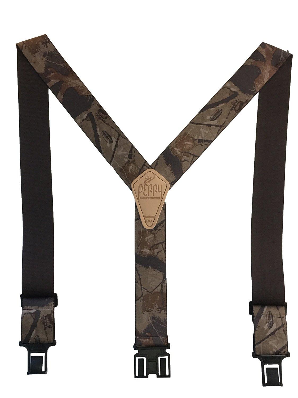 Camouflage Perry Suspenders - Realtree Hardwood
