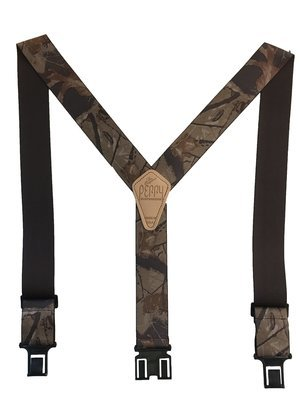 Camouflage Perry Suspenders - Realtree Hardwood