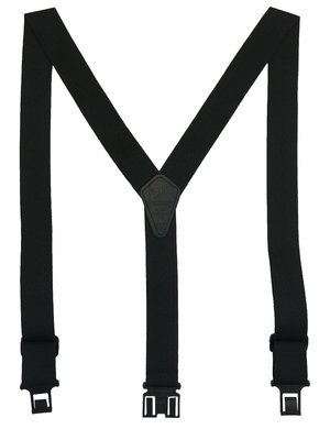 Flame Retardant Perry Suspenders - Black