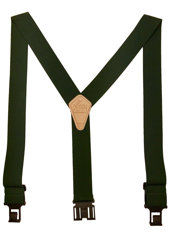Original Perry Suspenders - Hunter Green