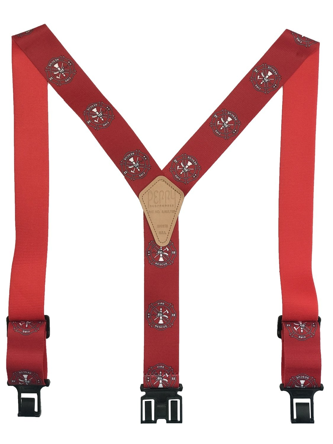 Novelty Perry Suspenders - Fire & Rescue
