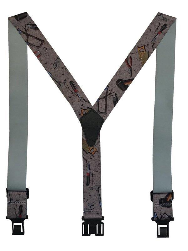 Novelty Perry Suspenders - Handyman