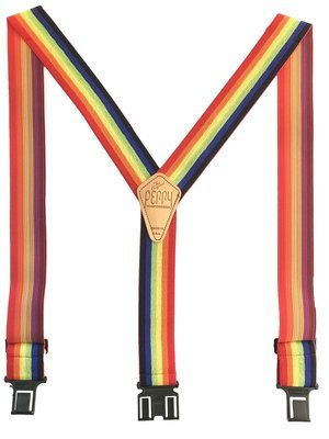 Original Perry Suspenders - Rainbow