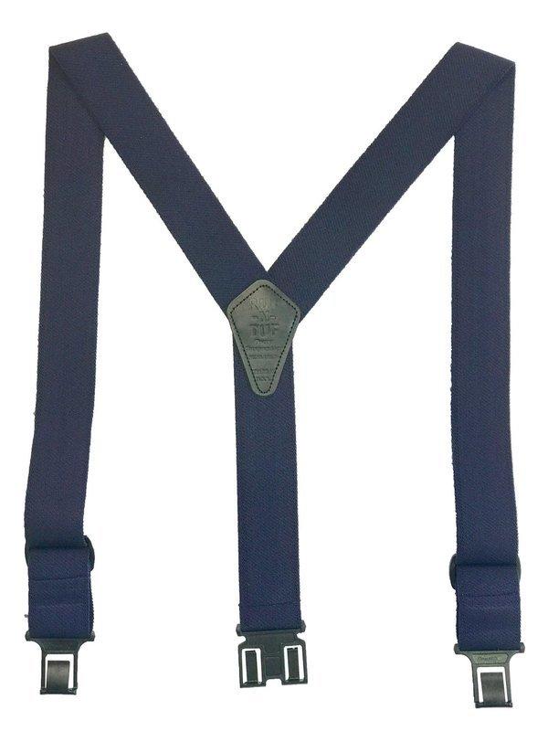 Ruf-N-Tuf Perry Suspenders - Navy