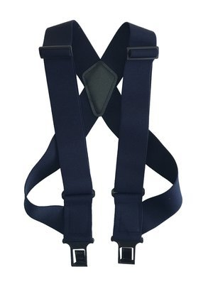 """uBEE Perry Suspenders - Navy 1.5"""" and 2"""" widths available"""