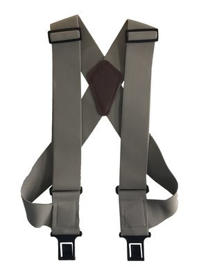 """uBEE Perry Suspenders - Tan 1.5"""" and 2"""" widths available"""