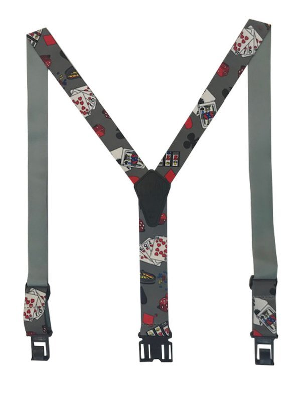 Novelty Perry Suspenders - Casino