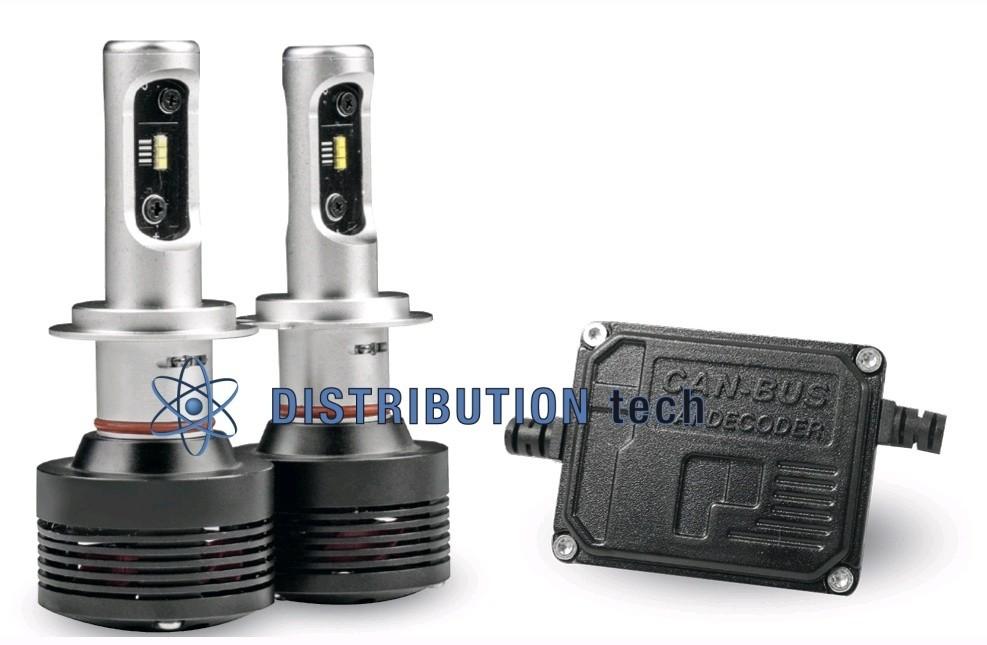 Kit conversione  fari HB3, HB4 CAN BUS a led Phonocar