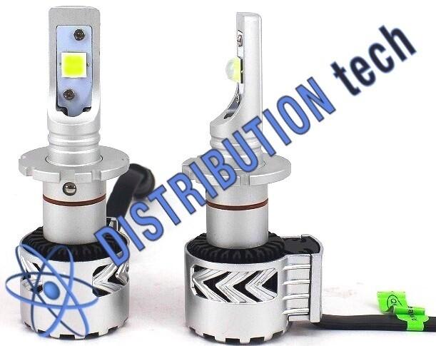 Kit conversione fari HB3-H10 mono led per fari lenticolari