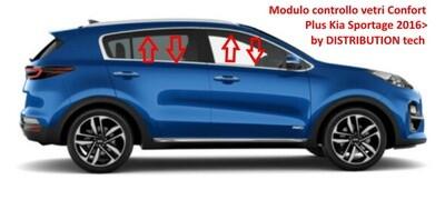 Modulo vetri con funzione CONFORT Plus Kia Sportage 2016>