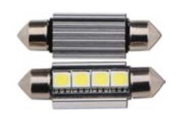 Kit lampade siluro 4 led Epistar