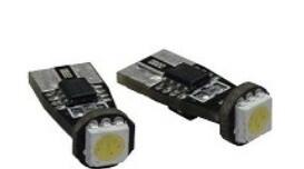 Kit lampade T10 mono led corto