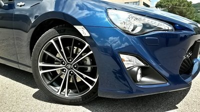 """Kit potenziamento impianto frenante anteriore Toyota GT86-17"""""""