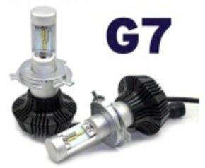 Nuovo kit conversione fari H4 a led 4000 lumen G7