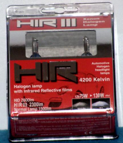Coppia lampadine H.I.R. H11 4200K