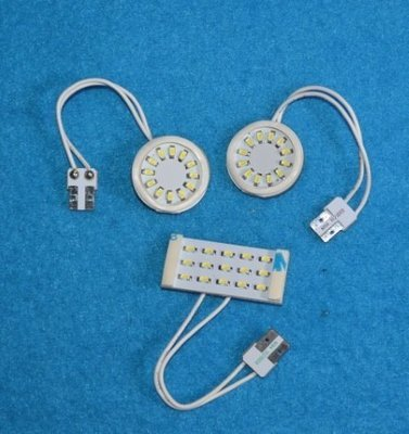 Kit luci interne a led per Fiat 500 X