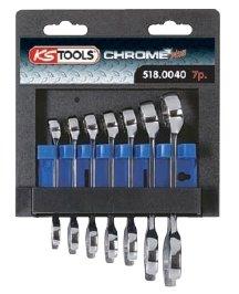 Serie di chiavi combinate CHROMEplus®, extracorte