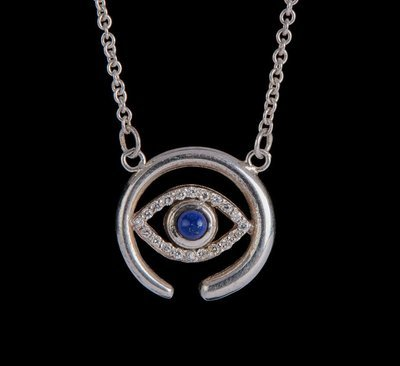 Enso Eye Necklace