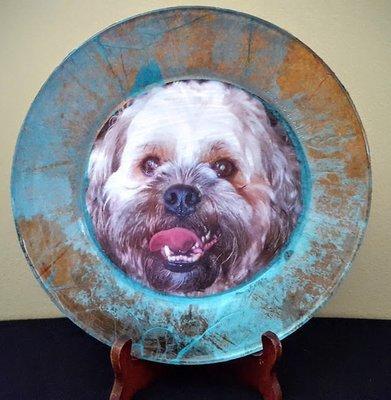 Pet Memory Plate