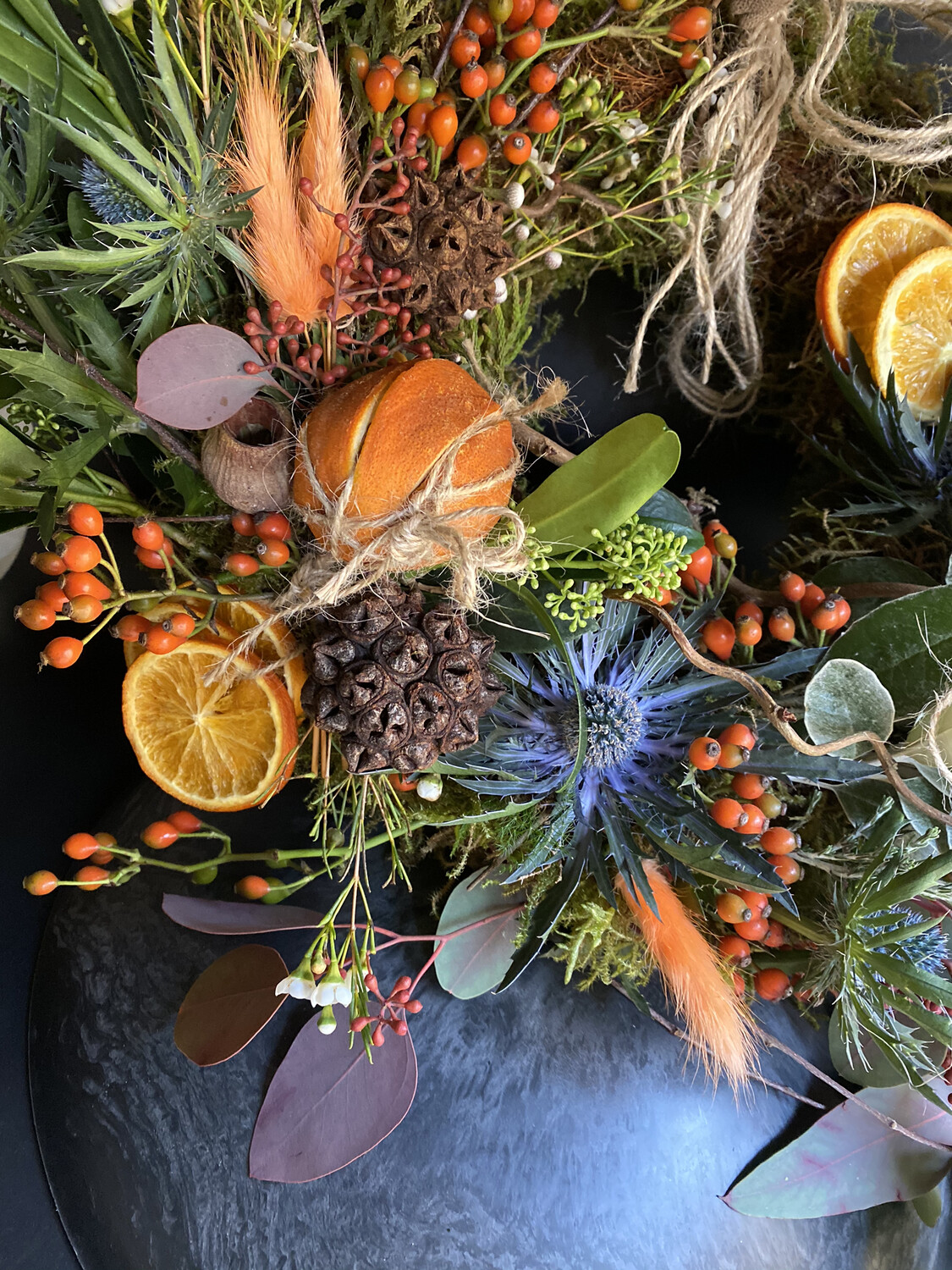 DIY AUTUMN WREATH KIT - BUD SIZE