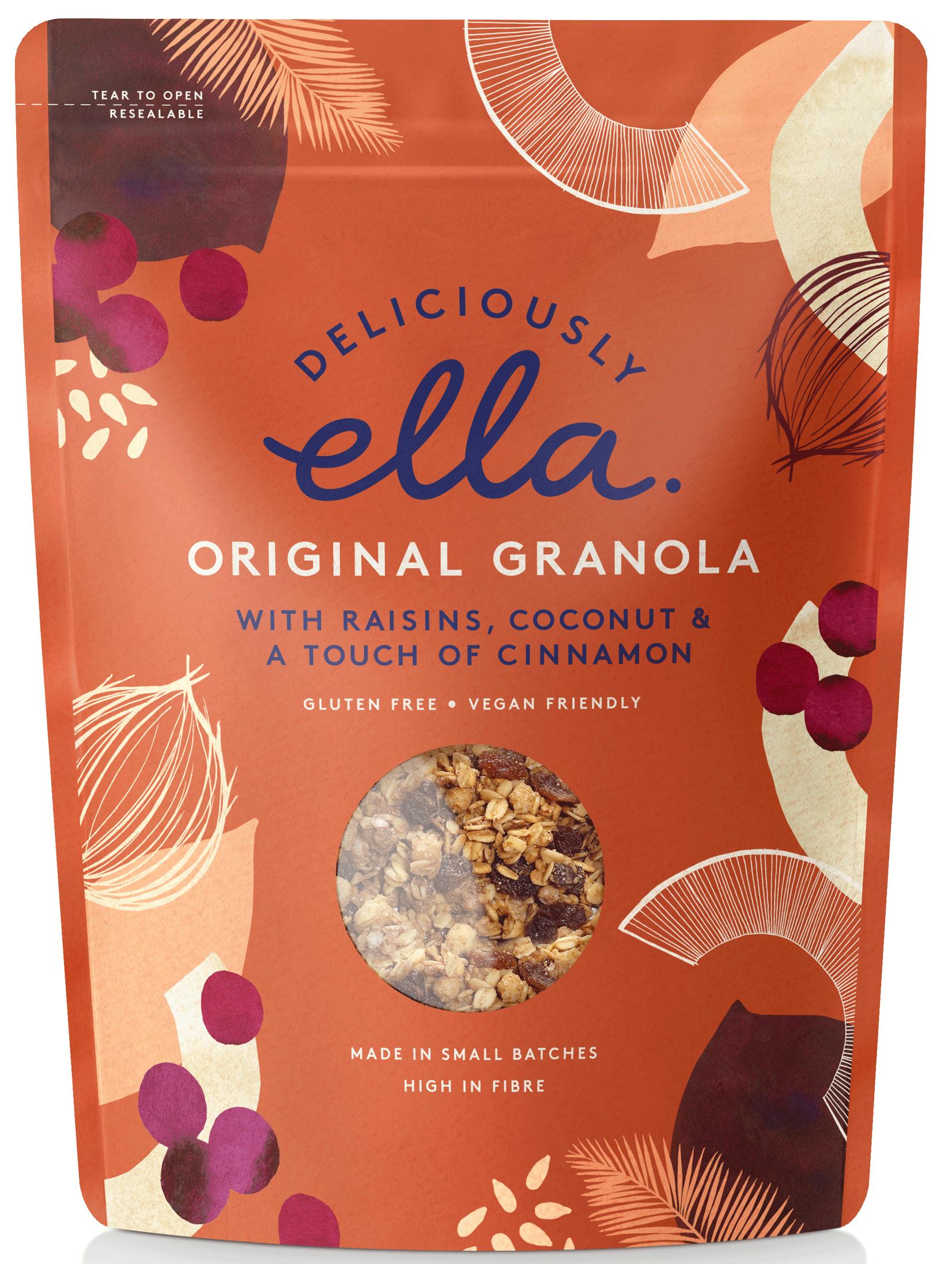 Delicious Ella Original Granola Cereal 12g. Only £12.12