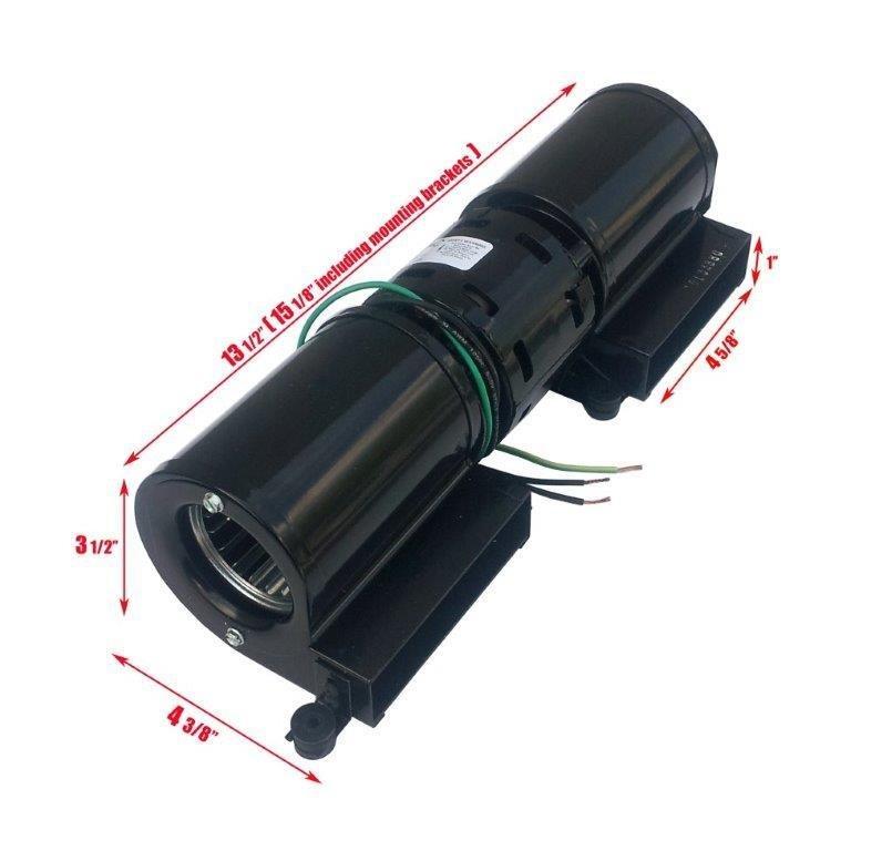 """1C125 14 1/2"""" Transflo Double Blower"""