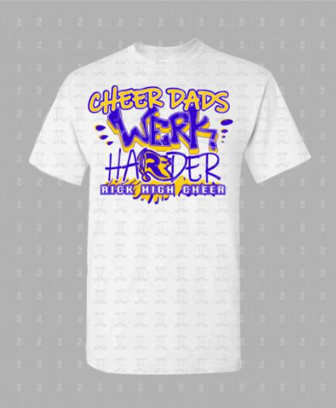 Rickards High Cheer Dad Shirt -Vinyl