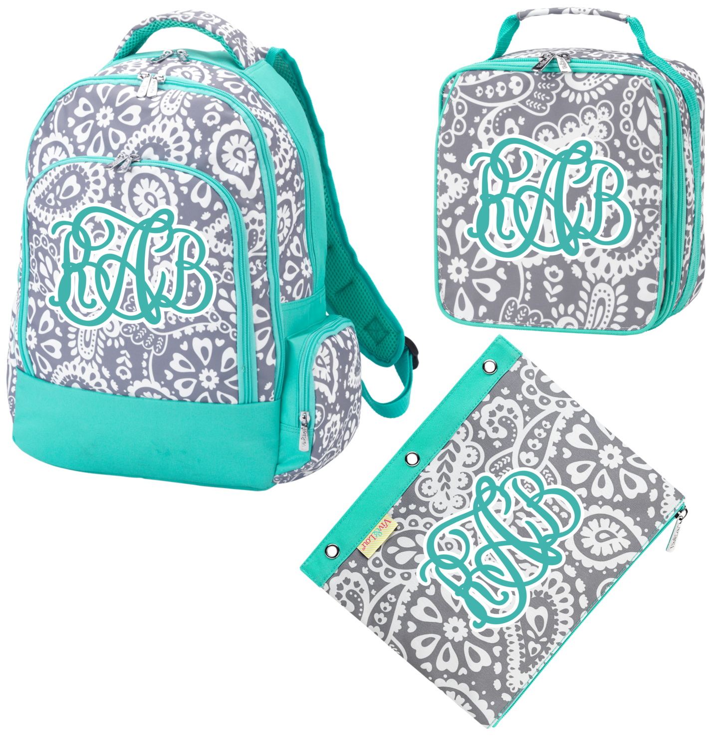 Parker Paisley Back To School Set