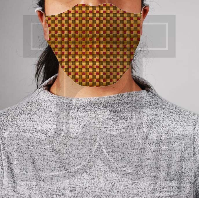 *PRE-ORDER* Premium Cloth Mask with Built-In Filter - African Wax 2