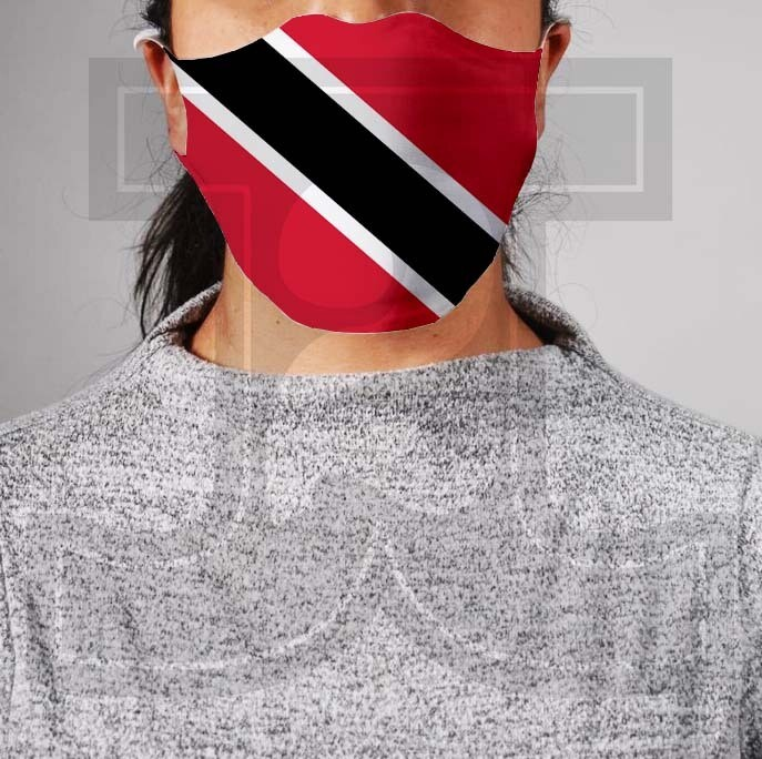 *PRE-ORDER* Premium Cloth Mask with Built-In Filter - Trinidad and Tobago Flag